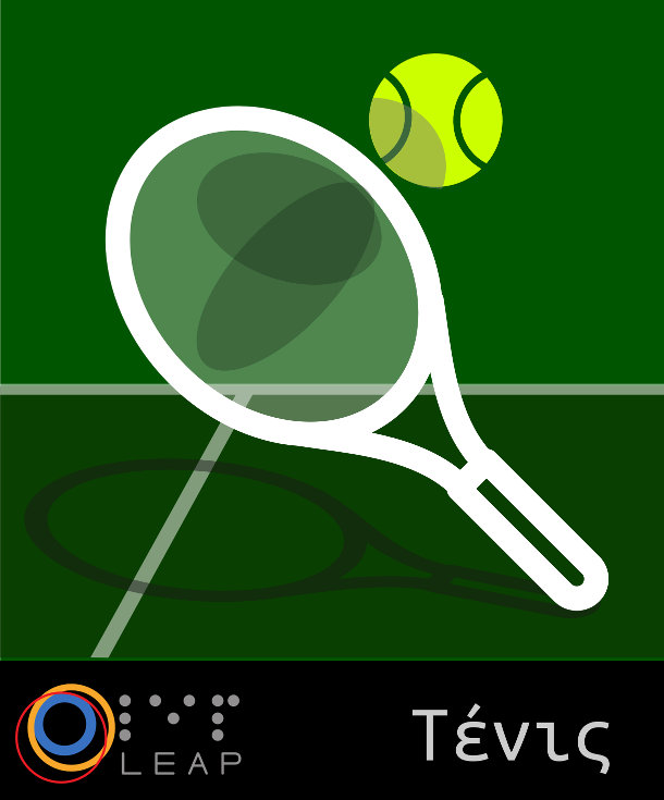 LEAP Tennis logo
