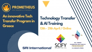 Prometheus: An innovative Tech Transfer Program in Greece